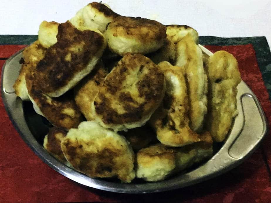 Πιροσκί με πατάτα