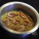 Γαρίδες με ρύζι