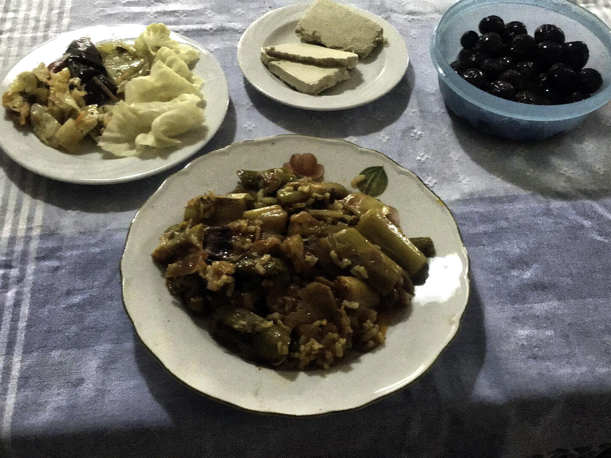 Leek Rice - Πρασόρυζο