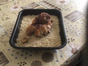 Κοτόπουλο-στο-φούρνο-με-ρύζι