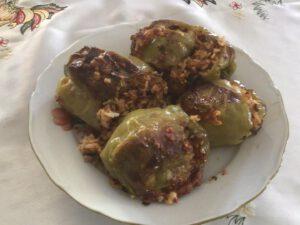 Πιπεριές γεμιστές με κιμά