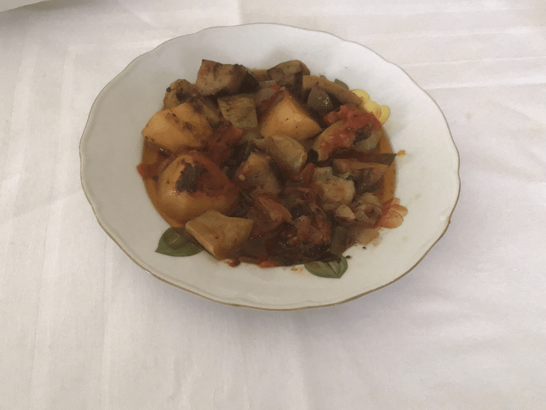 Τουρλού στο φούρνο (Μπριάμ)